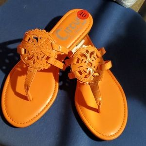New with tags Circus by Sam edelman thong sandals